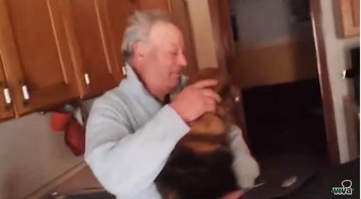 Bitonto, cane ritrova il suo padrone