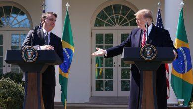 Trump riceve Bolsonaro
