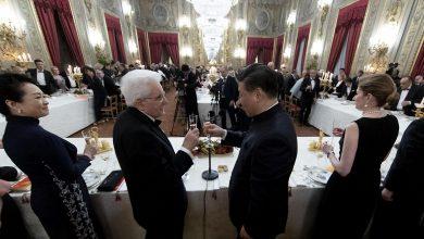 Xi Jinping e Mattarella a Roma