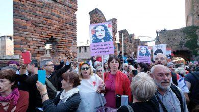 Verona contro manifestazione