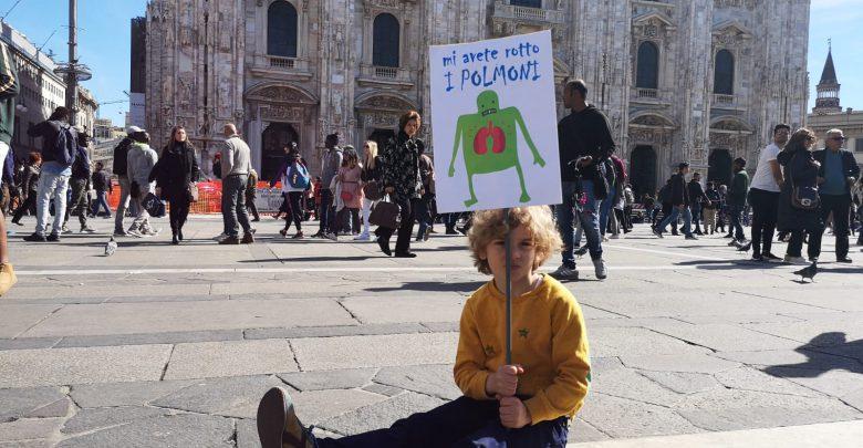 Fridays For Future - Milano. Foto IconaNews