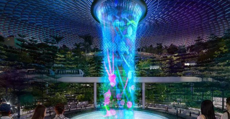 Risultati immagini per L'incredibile terminal dell'aeroporto di Singapore