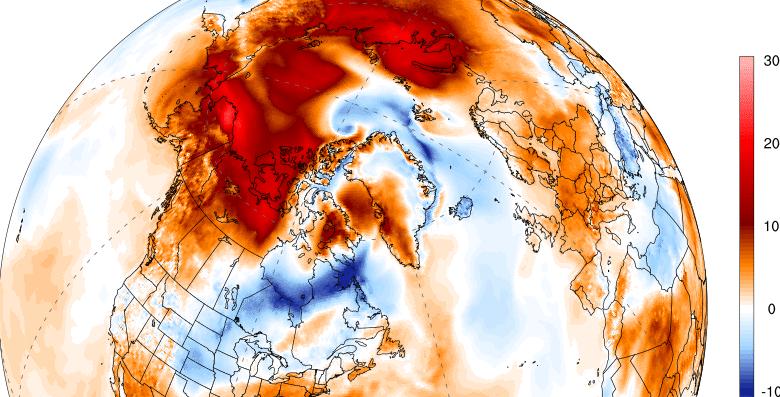 alaska caldo anomalo