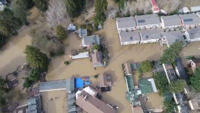 california alluvione