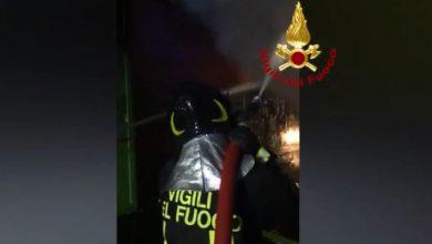 Arezzo incendio