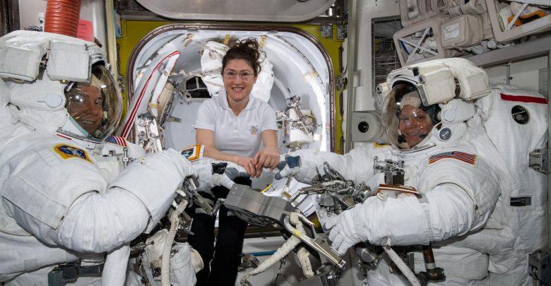 Passeggiata nello spazio al Femminile