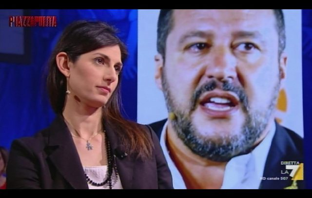 Salva Roma Raggi Salvini