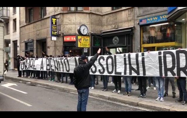 Mussolini Milano Lazio