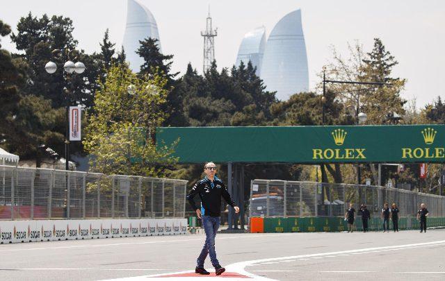 F1 Gp Azerbaijan tombino