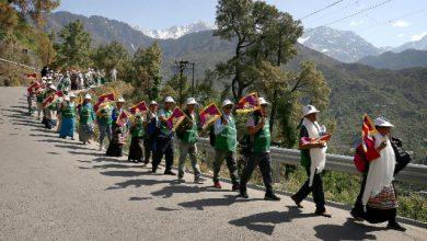 tibetane marchia Panchen Lama