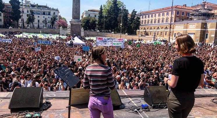 Greta Thunberg Roma