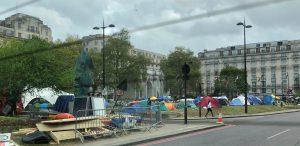 Londra clima Extinction Rebellion