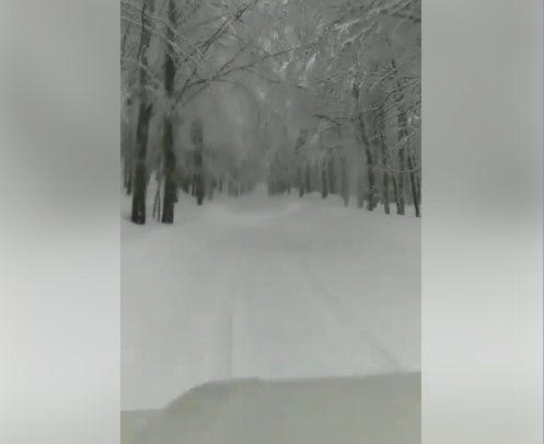 Basilicata, neve sul Pollino