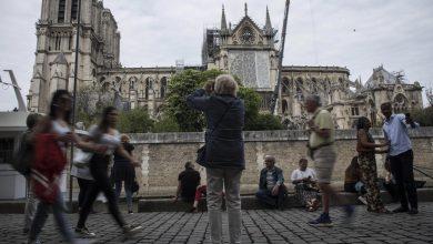 Notre Dame pioggia