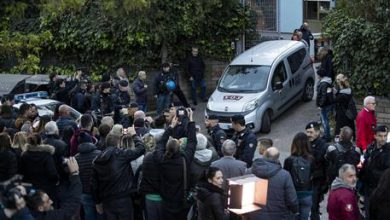 Torre Maura proteste contro rom