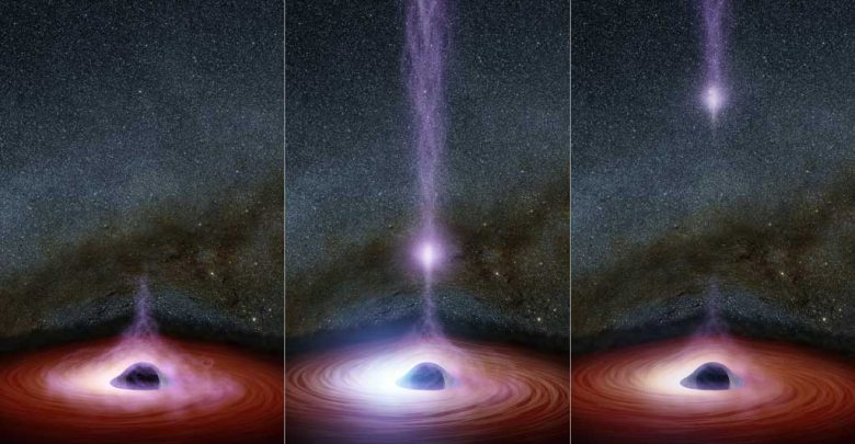 buco nero foto
