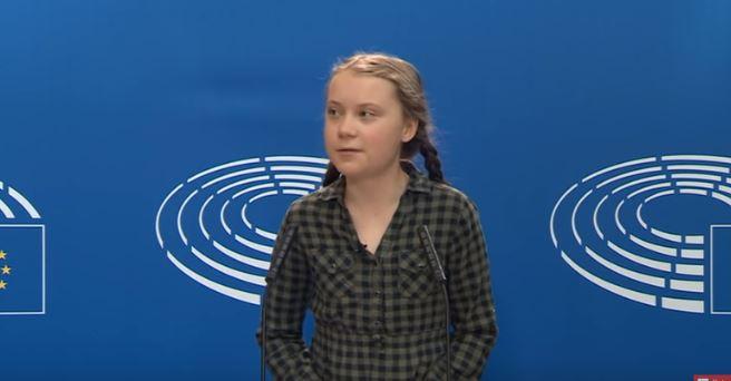 greta thunberg parlamento europeo