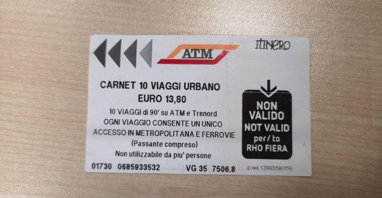 Milano, aumenta il prezzo dei biglietti ATM