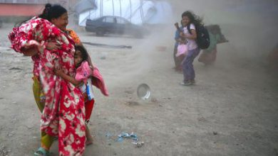 Nepal maltempo