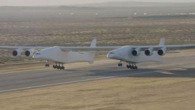 stratolaunch aereo più grande del mondo