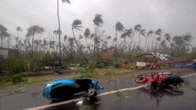 ciclone Fani morti