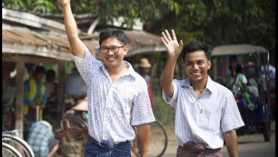 Birmania giornalisti