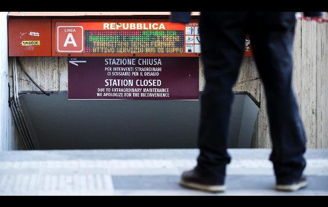Roma metro Repubblica