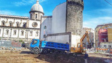 Napoli cantiere Unesco