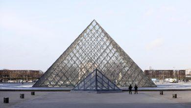 architetto piramide Louvre
