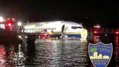 Florida, Boeing fuori pista