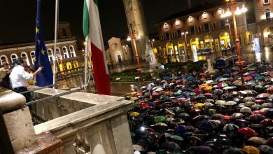 Forlì, comizio Salvini