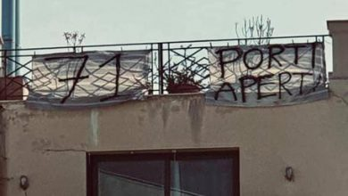 Balconiadi, anche a Palermo decine di striscioni contro Salvini