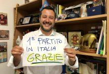 Europee 2019 Lega Nord - Matteo Salvini @Twitter
