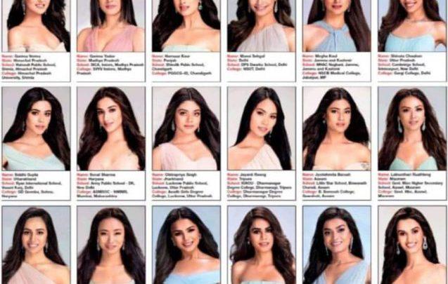 miss india tutte uguali