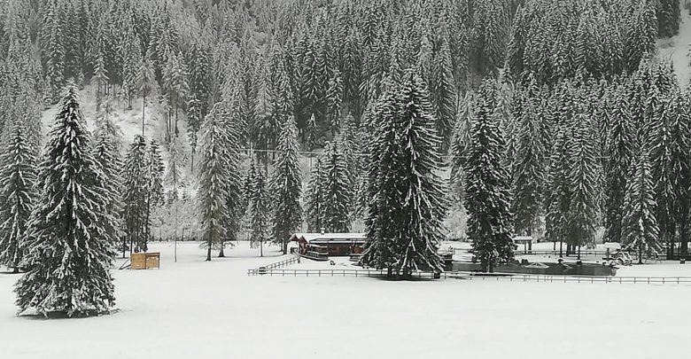 Maltempo: neve al Brennero, 30 cm sulle Dolomiti