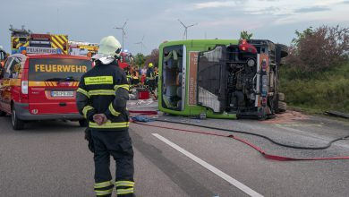 Germania, incidente Flixbus