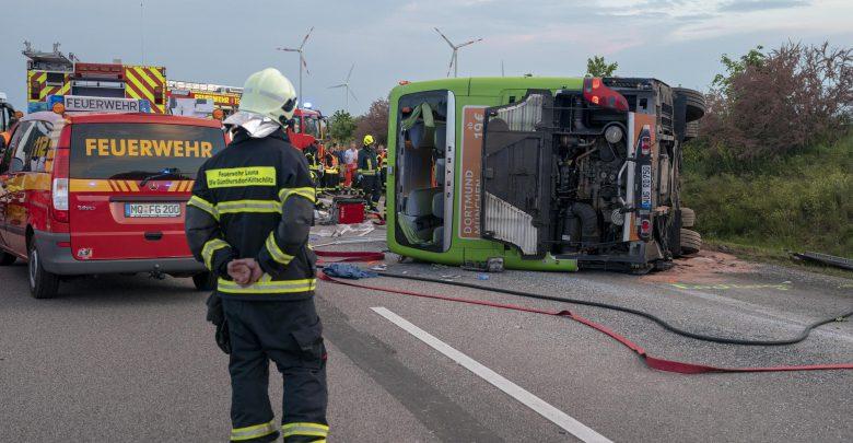Germania, incidente Flixbus