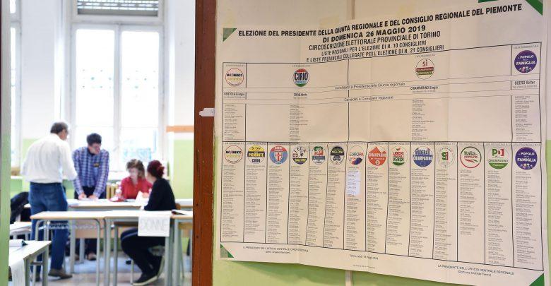 elezioni regionali in Piemonte