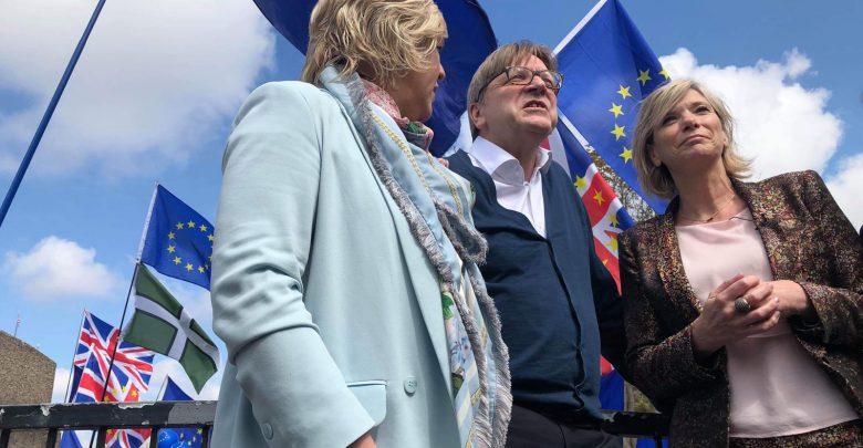 Guy Verhofstadt a Londra.