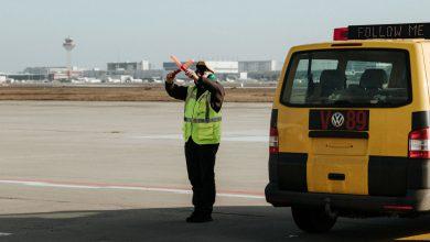aeroporto francoforte drone