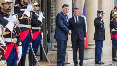Libia Sarraj Macron