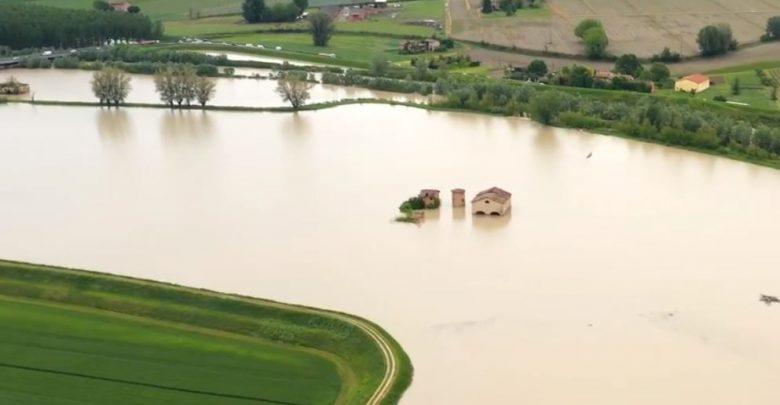 fiume secchia video drone Local Team