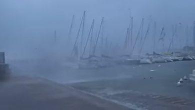 maltempo vento lago di garda desenzano