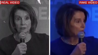 nancy pelosi video fake facebook