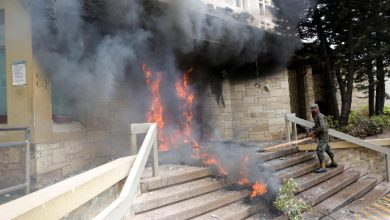Honduras fiamme ambasciata USA
