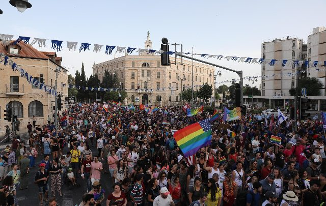gay pride gerusalemme