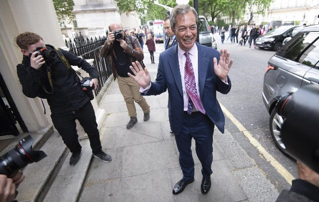 regno unito brexit Nigel Farage