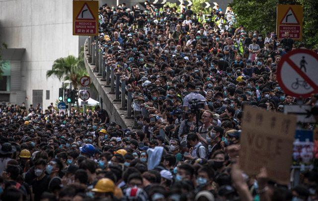 hong kong protesta giugno