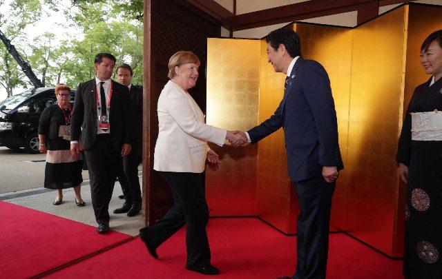 Angela Merkel al G20 - Foto ANSA