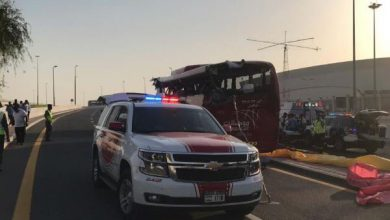dubai incidente bus